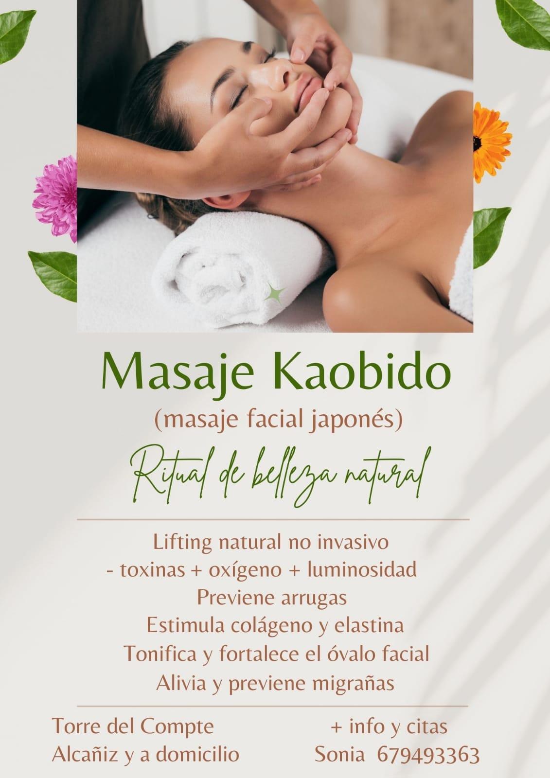 Masaje facial Kaobido